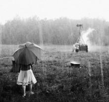 Купальский ливень / Праздник Ивана Купалы, 2010 год. Проливной дождь.