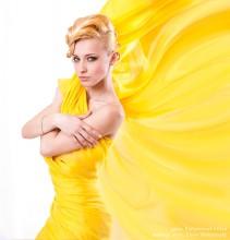 "Yellow butterfly / студия красоты ""Летто"" макияж, стиль Елена Макаревская модель Алекса Макарус"