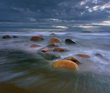 Камни Туи / Туя - рыбацкий поселок на берегу Рижского залива. Излюбленное место латвийских фотографов.