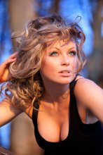 На закате... / модель Никифорова Ольга