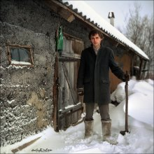 Хуторянин. / Андрей Горват, 1 января 2011 года. 80PS, Velvia50.