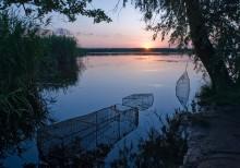 Утро на рыбалке / на Днепре