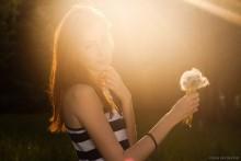 Evening sun / Модель: Анастасия Шишкина.