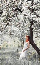Яблоневый свет... / модель Ольга Бушо визаж Елена Илюхина www.fotoatelie.by