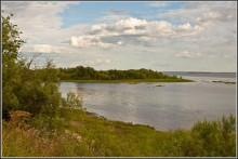 лето, ах лето... / поселок Уйма, река Северная Двина
