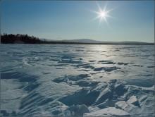 Солнечный день / Снято весной этого года на озере Экипурымтур, Северный Урал, ХМАО