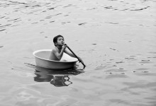 ...Колумб,начало большого плавания... / Камбоджа,озеро Томлесап,плавучая деревня
