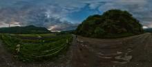 Вечерний Гребенов / Фрагмент сферической панорамы в равноугольной проекции. 6 кадров Рекомендуется просмотр во флеше. http://sferitus.com/panorama/nature/slope.php