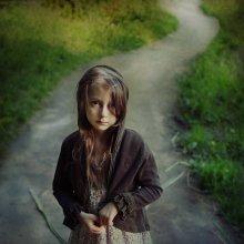 тихая, акварельная дорога / http://www.art-photostories.com/