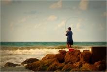 Про рыбака и море / Хайфа, Израиль, средиземное море