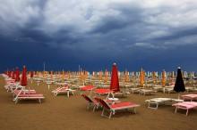 Пляж / пляж,Римини