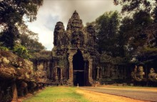 лики храмов / ангкор. камбоджа