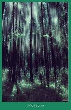 """The fairy forest / Пробую.... нравятся работы [ArtGapan] ))) , конечно же далеко до его Образов.. но все же.. Пробую. Возможно не """"абстракция"""".. а помутнение разума))..."""