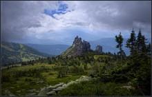 ^^^ / Горная Шория, вид с горы Мустаг