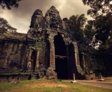 лики храмов №3 / Ангкор. камбоджа