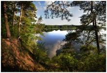 / Панорама из нескольких кадров. Вблизи г.п. Островец, Гродненская область.