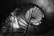 аллегория жизни / лестница в Исакиевском соборе