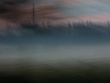 Туманное утро на берегу / ---------------