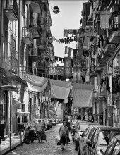 """НЕАПОЛЬ ГОРОД КОНТРАСТОВ / Одна из улиц исторического центра Неаполя! """" КВАРТЬЕРИ   ИСПАНЬЁЛИ"""""""