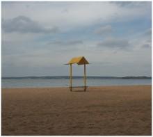 Осеннее одиночество / Пляж на Минском море