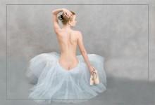 Балетное, лирическое.... / этюд на тему про балет