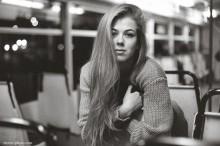 Джулианна / в трамвае