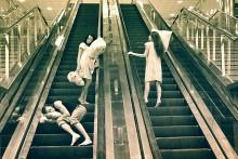 """из серии """"сонные люди"""" / о том..., ....как люди спят наяву."""