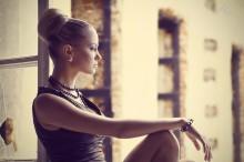 После.... / модель: Александра Яковицкая