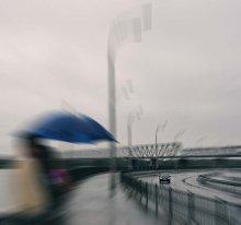 Дождь. / Дождь, город