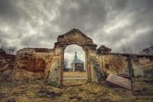 |   Брама   | / Покровская церковь д. Беница, Молодечненский район, Минская область
