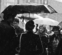 / Дождь на Арбате