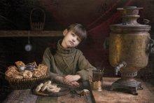 время пить чай... / портрет