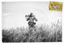 [ ДМБ *1987 ] / Латвия, Рига, полигон Адажи...  ...вот так вот и на самалёти и прилетел  общем Пятницц0 11/11/11   АГАТ рулит