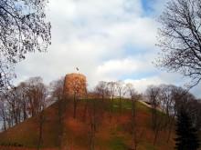Замковая башня - Вильнюс. / Город Вильнюс.