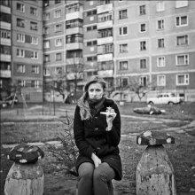 """Лера и """"желтый"""" самолетик / Витебск 2011"""