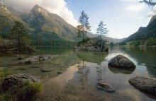 """"""" И на камнях растут деревья...""""(с) / Германия. Бавария. Хинтерзее."""