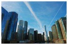 Чикаго....первый солнечный день февраля... / Зима....Холод....Чикаго....первый солнечный день февраля....