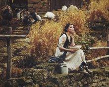 Жизнь в деревне / http://soul-portrait.com/ визаж и прическа : Алина Ткачук модель: Дана
