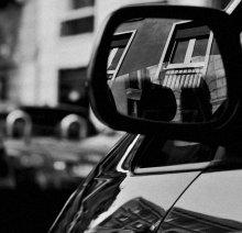 Зеркальце 4 / не привычный взгляд на город через зеркальце