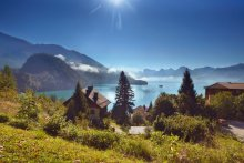 Wolfgangsee in the morning / ****************