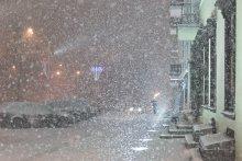 Без названия / Минск, снег
