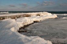Зимнее море / Одесса. Черное море. 31 января 2012г. -10С.