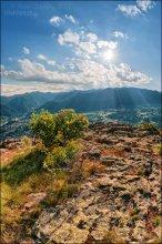 Болгария. Смолян. гора Невяста / Вечером, на несколько часов перед закатом горы оживают, преображаются,... становятся волшебными :)