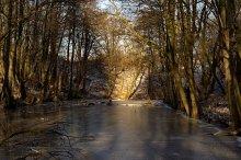 Вот и зима / Крепостной ров крепости Pillau