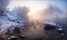 / Лед и пламень / / прошлая неделя, -30°С 7 кадров, штатив, Cokin nd4x, сапоги и перчатки :)