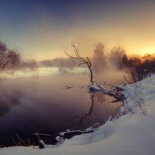 | Горячая река | / река Свислочь возле Гатово со штатива снимал панорамку с выдержкой около 20 сек