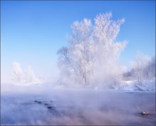 / Фрагмент морозного утра / / -30°C