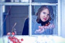 Winter Cherry / Просто хочется немного лета :) Модель - замечательная и хладостойкая девушка Таня Февраль, 2012 г.