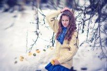 Фруктовая со льдом / Модель - замечательная и хладостойкая девушка Таня Февраль, 2012 г.