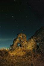 звезды над Феодоро ... / ночь,Крым,Мангуп